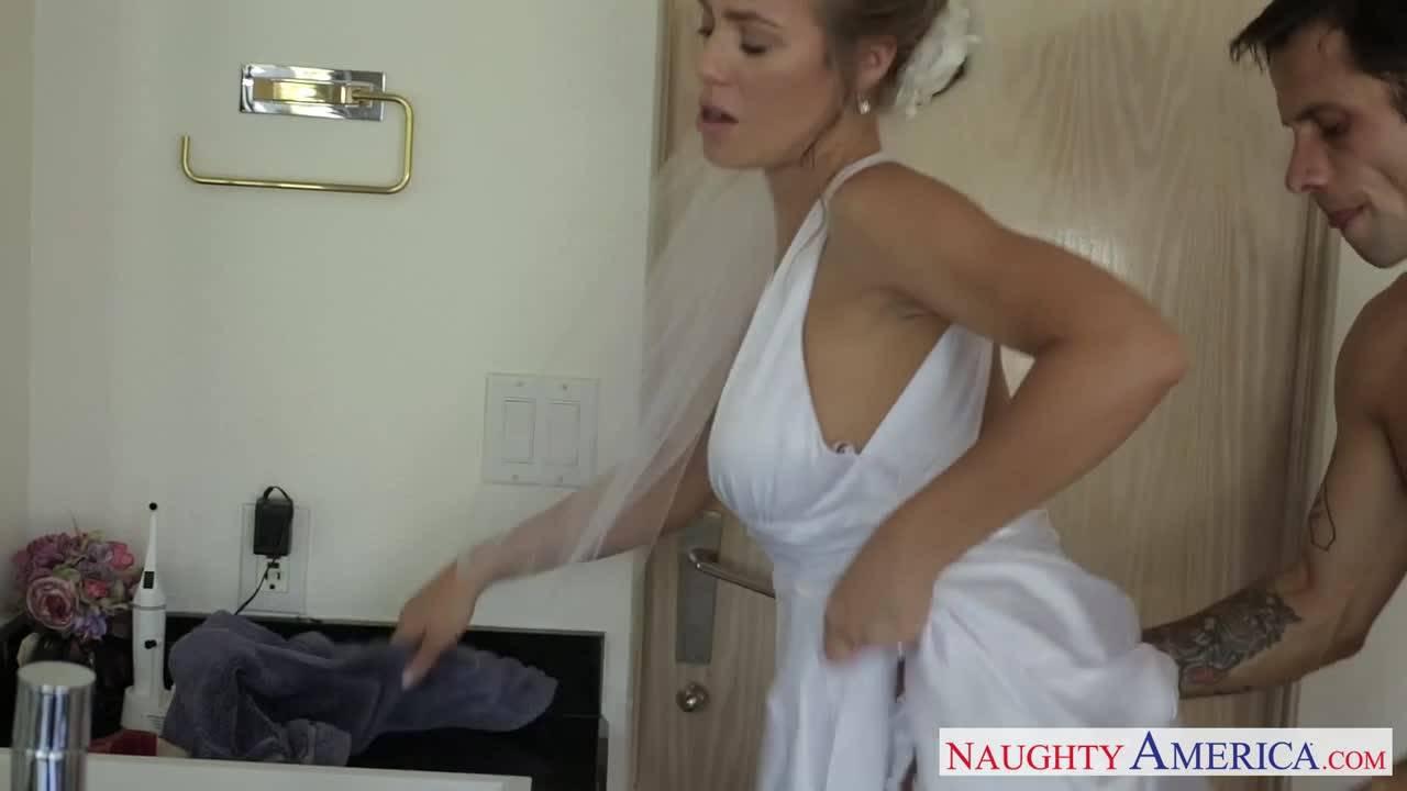 Неверная жена Николь Анистон ебется с другом жениха сразу после свадьбы