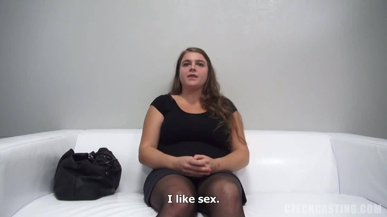 Толстуха пришла на порно кастинг