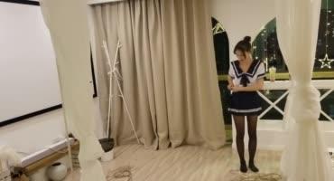 Бойфренд связал сексуальную подружку техникой шибари