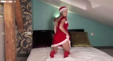 Санта исполнил самое сокровенное желание парня