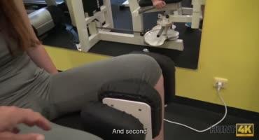 Тренер сказал малой что после тренировки нужно трахнутся и поимел суку