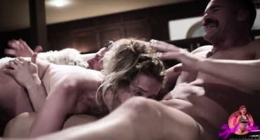 Шикарная нарезка БДСМ, унижений и жесткого секса
