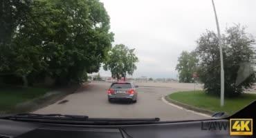 Угнала чужую машину и была жестко наказана за это