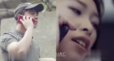 Китаянка разогрела свою волосатую шмоньку новым дилдо и потрахалась с хахалем