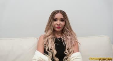 Блонда пришла с большим напором и желанием секса