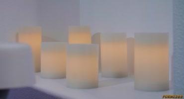 Темноволосая латинка поставила свечи в ванной и пригласила своего парня