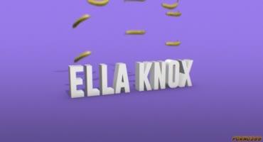 Молоденькая латинка Элла Нокс поигралась с бананами и членом Чарльза Деры
