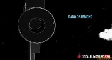 Дана ДеАрмонд жёстко скачет на стручке бизнесмена