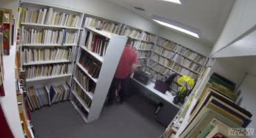 Быстрый перепихон в городской библиотеки