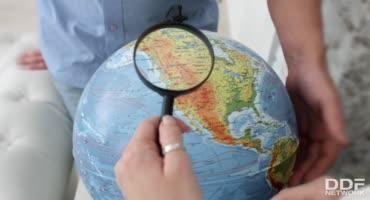 Учитель по географии трахнул студентку в анал