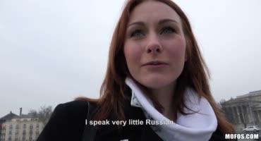 Иностранка приехала в Россию и согласилась на секс за бабки