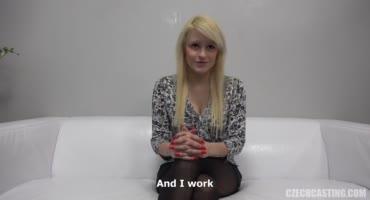 Чешская девушка пришла на кастинг, чтобы заработать денег