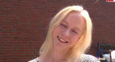 Для блондинки лучший подарок - кончить внутрь