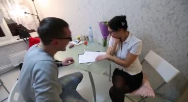 Молоденькую проститутку Москвы отжарил хорошенько юный самец