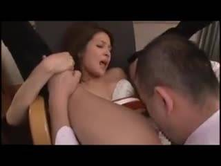 Секс японочки со своим парнем