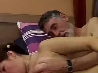 Секс молодой с пожилым мужчиной